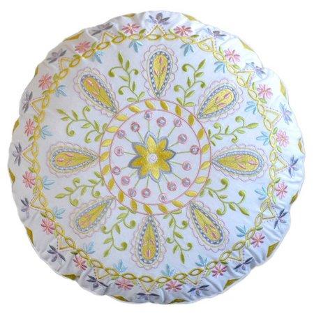 Dena Home Payton Round Decorative Pillow