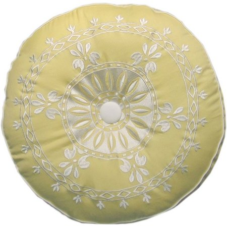 Dena Home Sun Beam Round Decorative Pillow