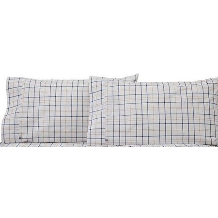 IZOD Windowpane Plaid Pillowcase Set