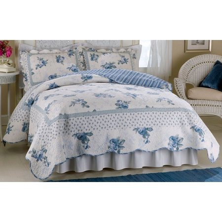 American Traditions Rose Blossom King Quilt