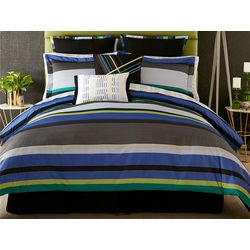 Christian Siriano Chic Stripe 3-pc. Comforter Set