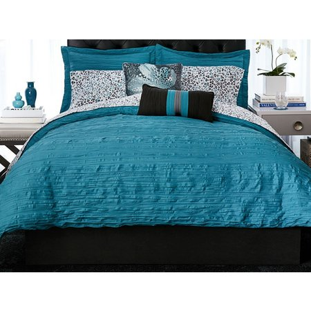 Christian Siriano Crinkle 3-pc. Comforter Set