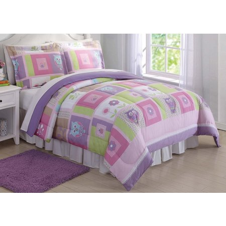 Laura Hart Kids Happy Owls Comforter Set