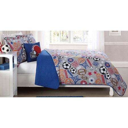 Laura Hart Kids Sports Express Quilt Set