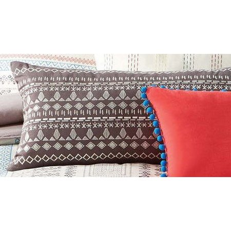 Antik Batik Margo Embroidered Oblong Pillow