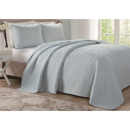 Laura Ashley Solid Bedspread