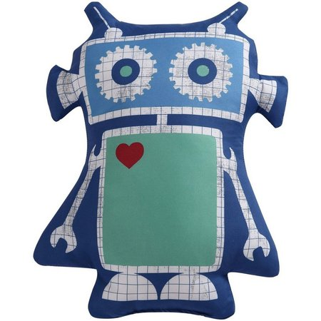Laura Hart Kids Roboto Decorative Pillow
