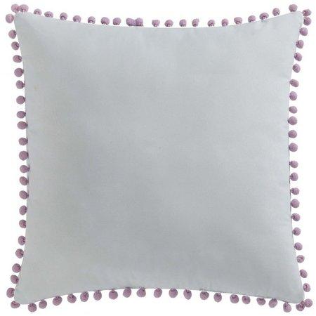 Laura Hart Kids Unicorn Princess Pom Pom Pillow