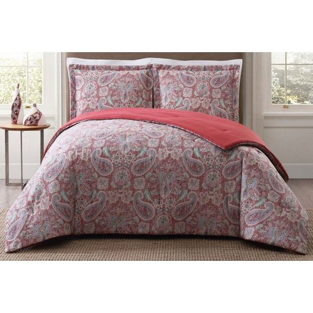 Style 212 Manchester Red Comforter Set