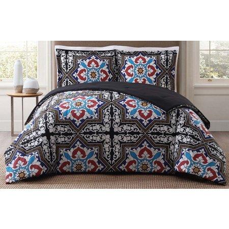 Style 212 Sheffield Black Comforter Set