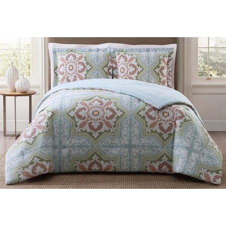 Style 212 Sheffield Light Blue Comforter Set