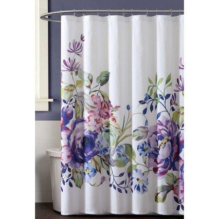 New! Christian Siriano Garden Bloom Shower Curtain
