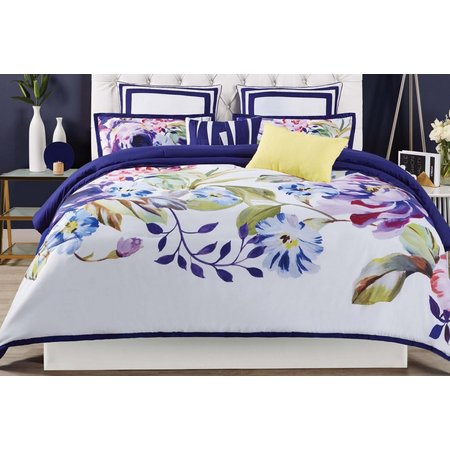 New! Christian Siriano Garden Bloom 3-pc. Duvet Set