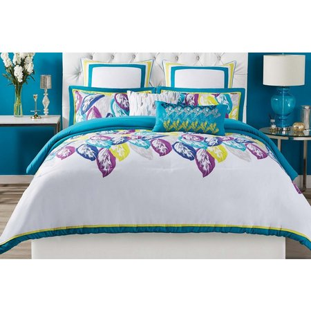 New! Christian Siriano Plume 3-pc. Duvet Cover Set