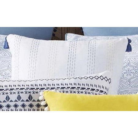 Antik Batik Indigo Tassel Pillow