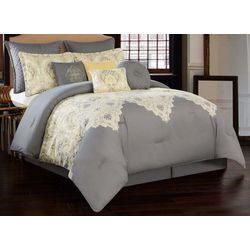 V1969 Italia Dolce Milan Grey 10-pc. Comforter Set