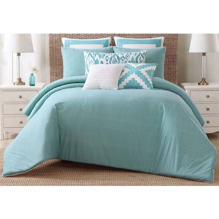 Oceanfront Resort Beach House Bright Comforter Set