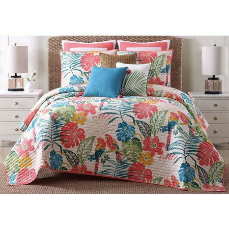 New! Oceanfront Resort Coco Paradise Quilt Set