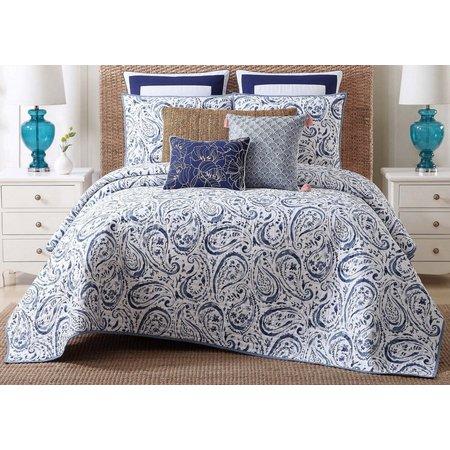 New! Oceanfront Resort Indienne Paisley Comforter Set