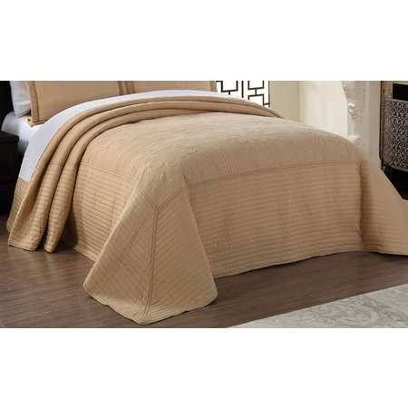 American Traditions French Tile Quilted Bedspread