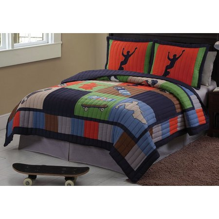 My World Cool Skate 2-pc. Twin Quilt Set