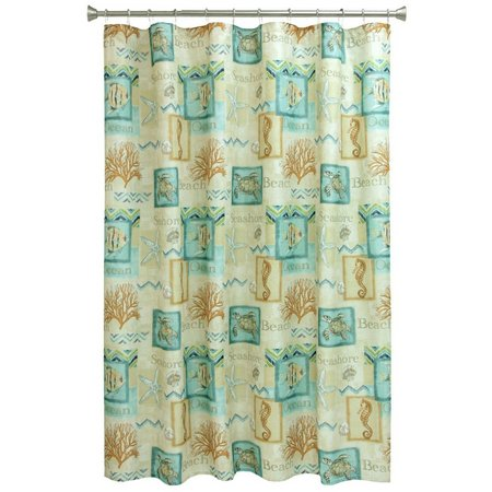Bacova Chevron Shower Curtain