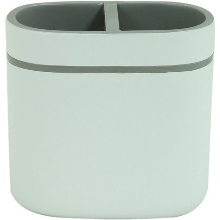 Bacova Portico Grey Toothbrush Holder