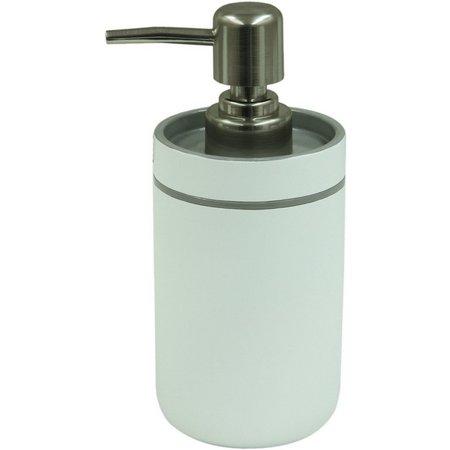 Bacova Portico Grey Lotion Dispenser