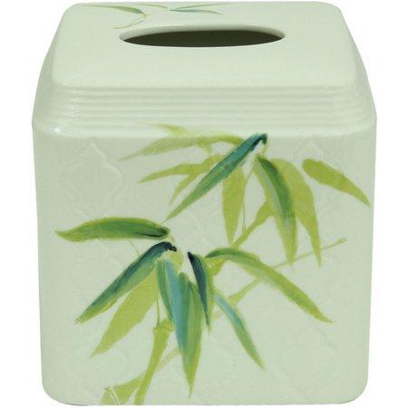Bacova Zen Bamboo Tissue Box