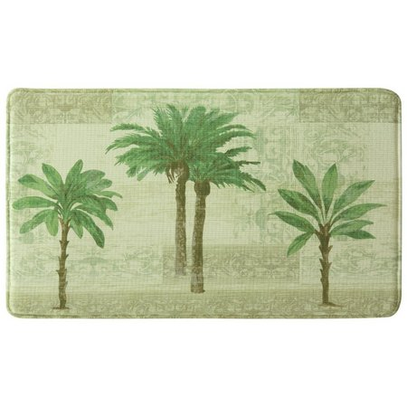 Bacova Citrus Palm Memory Foam Mat