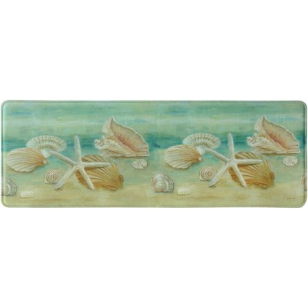 Bacova Horizon Shell Memory Foam Rug Runner
