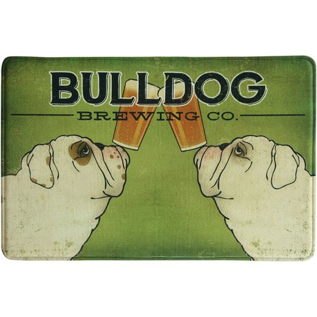 Bacova Bulldog Brewing Memory Foam Mat