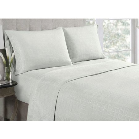 Hight Point Collection Embossed Microfiber Sheet Set