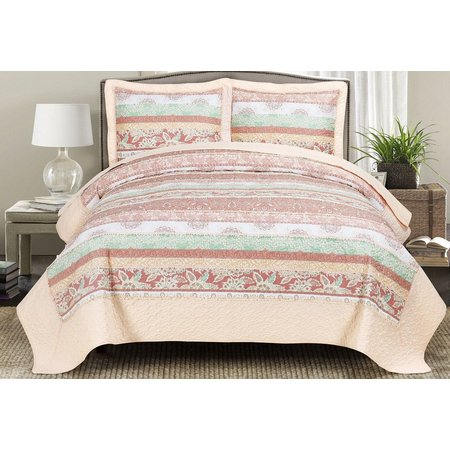 Blissful Living Leeza Quilt Set