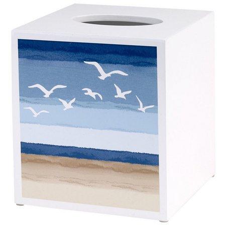 Avanti Seagull Tissue Box Cover