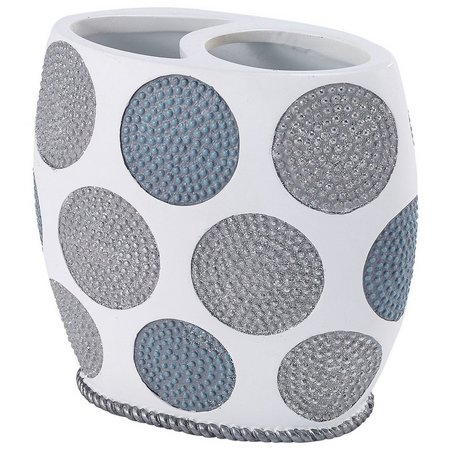 Avanti Dotted Circles Toothbrush Holder