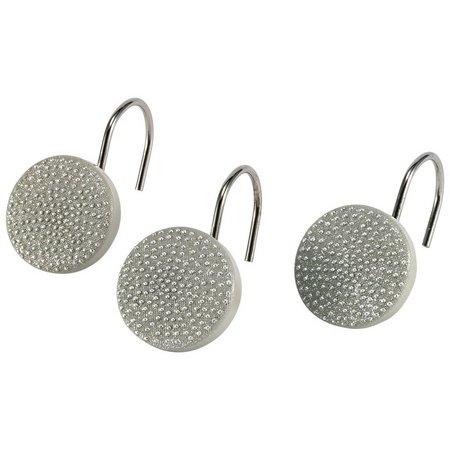 Avanti Dotted Circles 12-pc. Shower Curtain Hooks