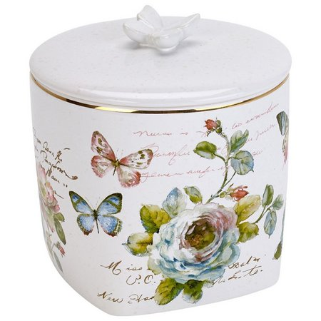 Avanti Butterfly Garden Covered Jar