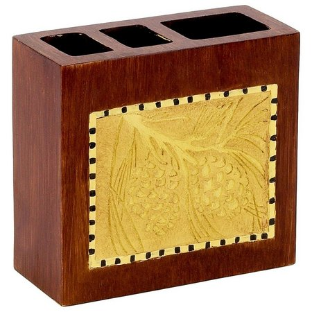 Avanti Adirondack Pine Toothbrush Holder