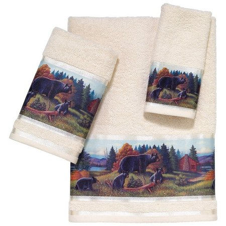 Avanti Black Bear Lodge Towel Collection