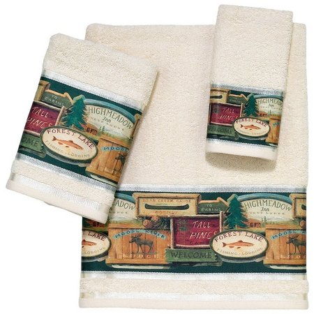 Avanti Rather Be Fishing Towel Collection