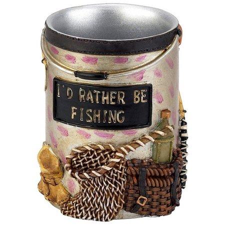 Avanti Rather Be Fishing Bathroom Tumbler