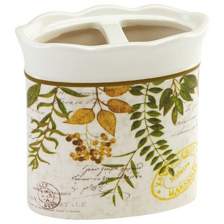 Avanti Foliage Garden Toothbrush Holder
