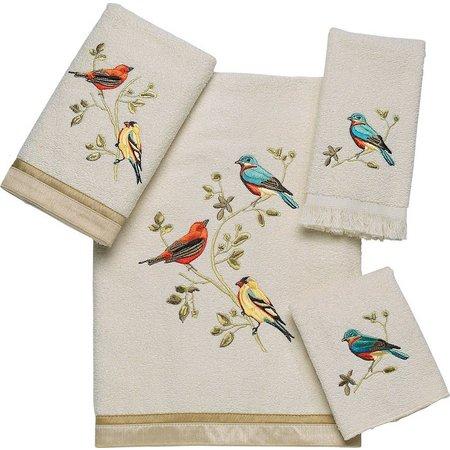 Avanti Gilded Birds Towel Collection
