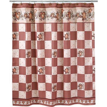 Avanti Hearts & Stars Shower Curtain