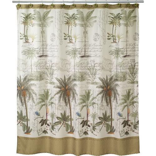 Avanti Colony Palm Shower Curtain Bealls Florida