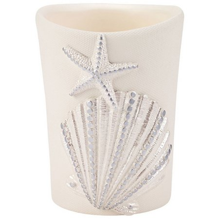 Avanti Sequin Shell Bathroom Tumbler