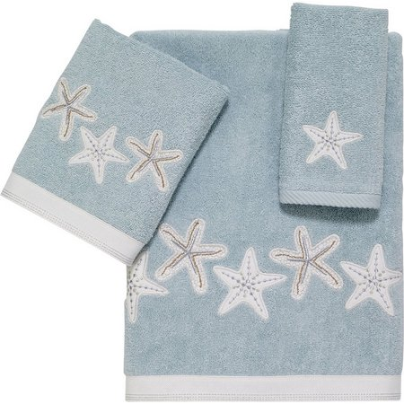 Avanti Sequin Shells Towel Collection