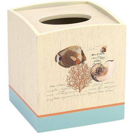 Avanti Seaside Vintage Tissue Box Cover