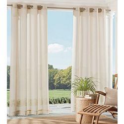 New! Parasol Summerland Key Sheer Curtain Panel